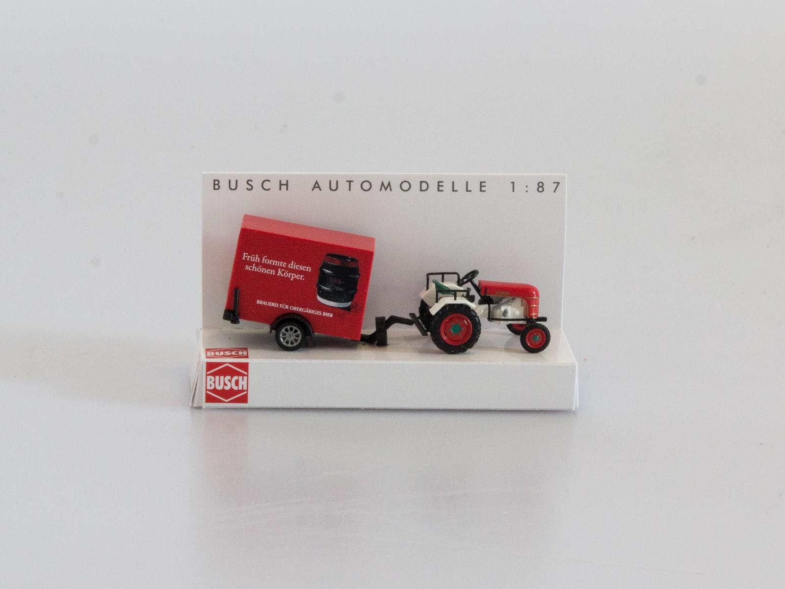 "Busch 40063 Traktor Kramer KL 11 ""Früh Kölsch"""