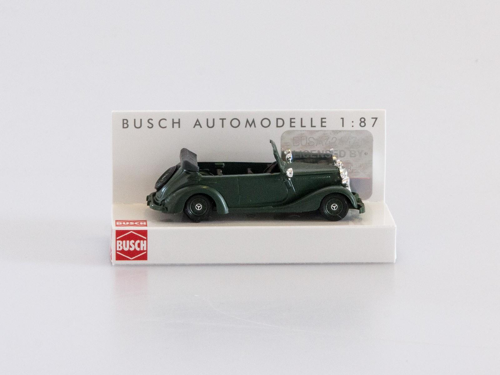 """Busch H0 41404 Mercedes 170V """"Bereitschaftspolizei"""""""