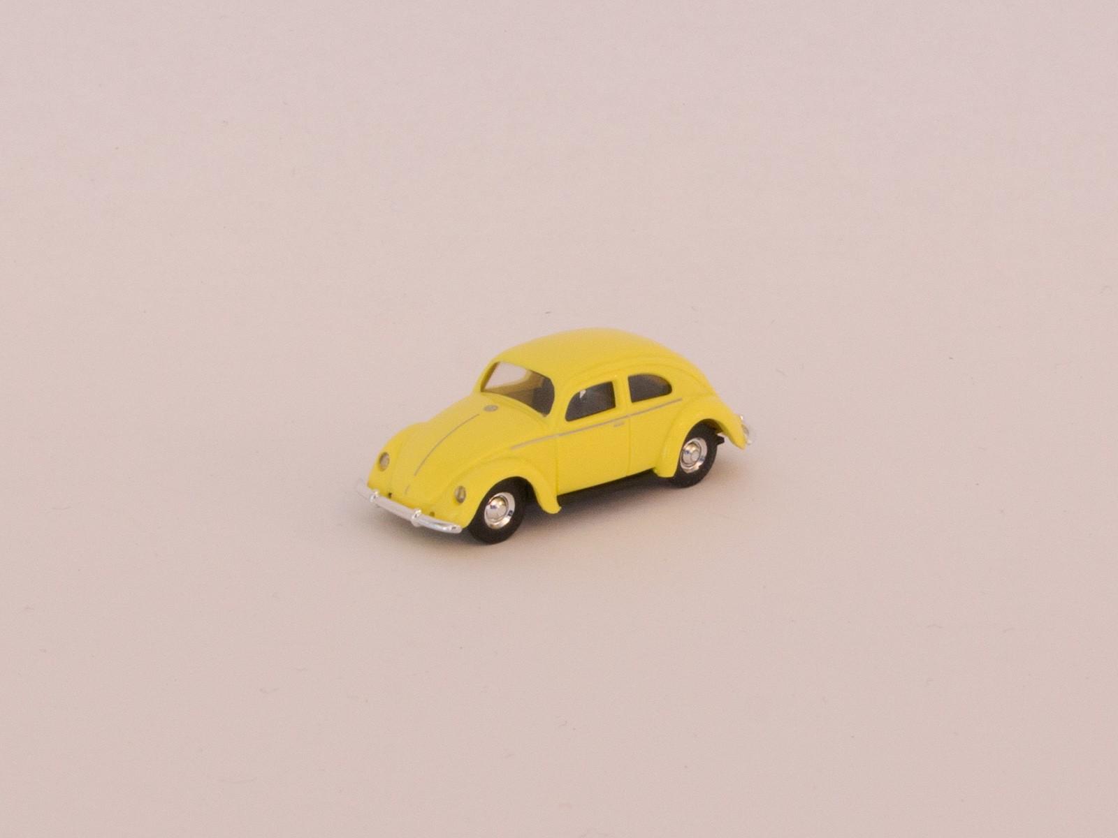 Busch H0 42700-112  VW Käfer mit Brezelfenster zinkgelb