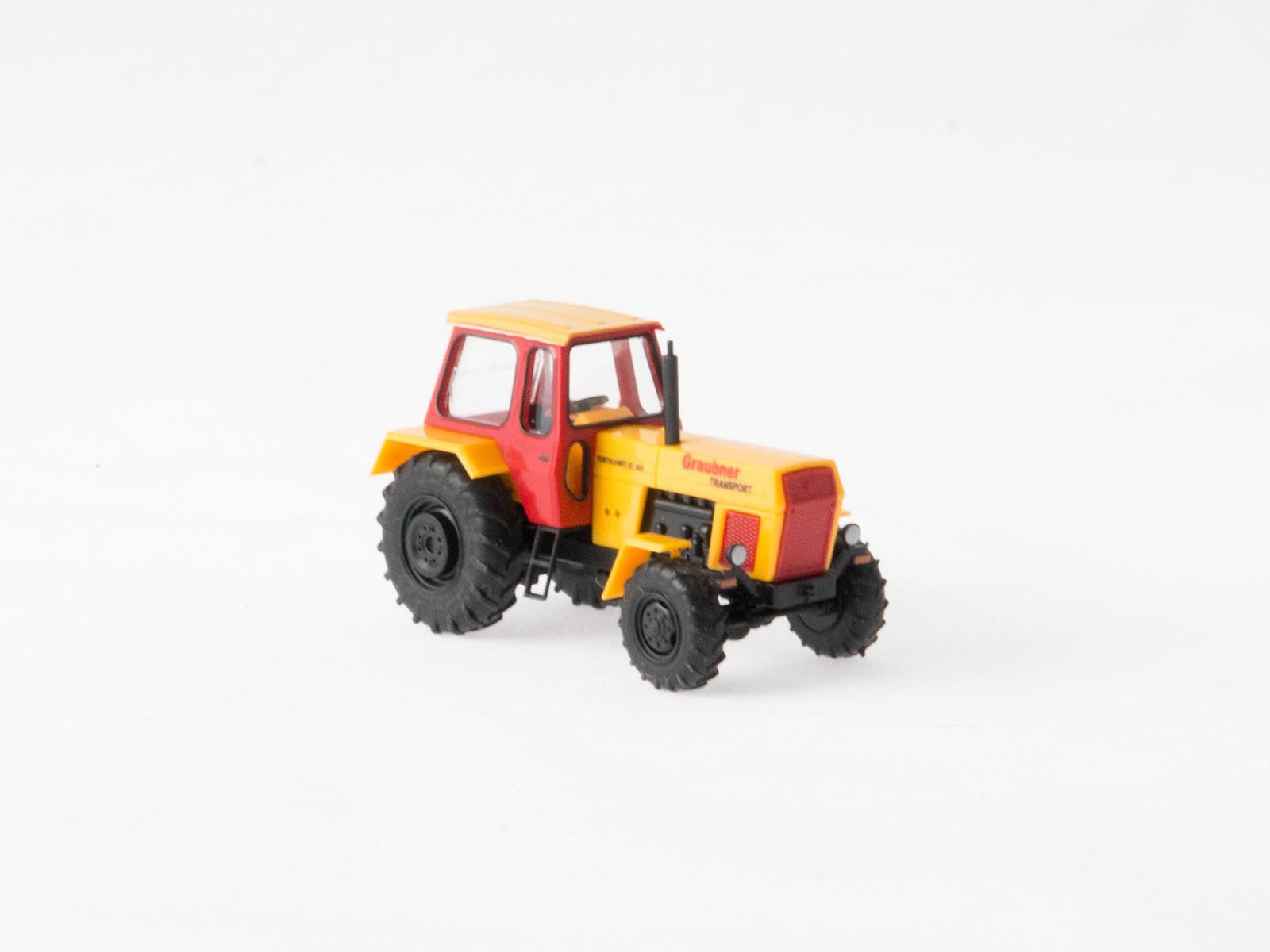 """Busch 42824 Traktor Fortschritt """"Graubner Transport"""""""
