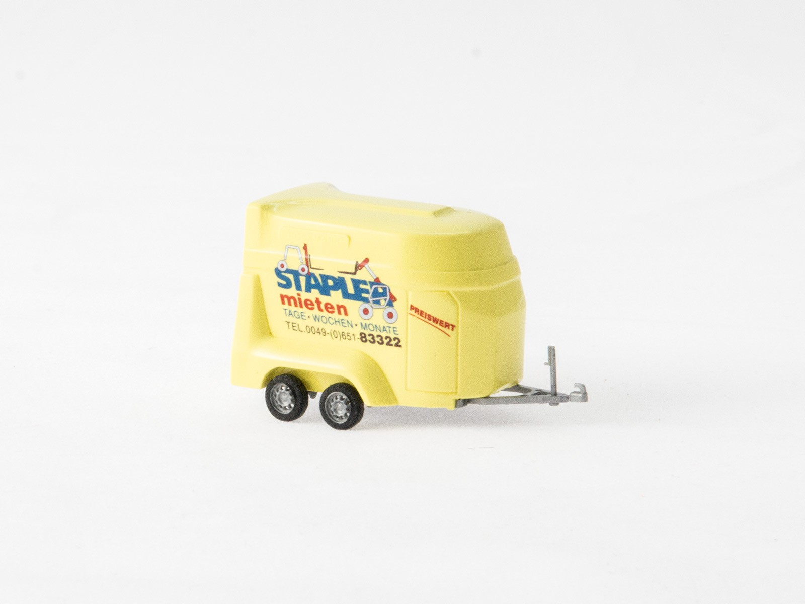 """Busch H0 44921 Transportanhänger """"Stapler mieten"""""""