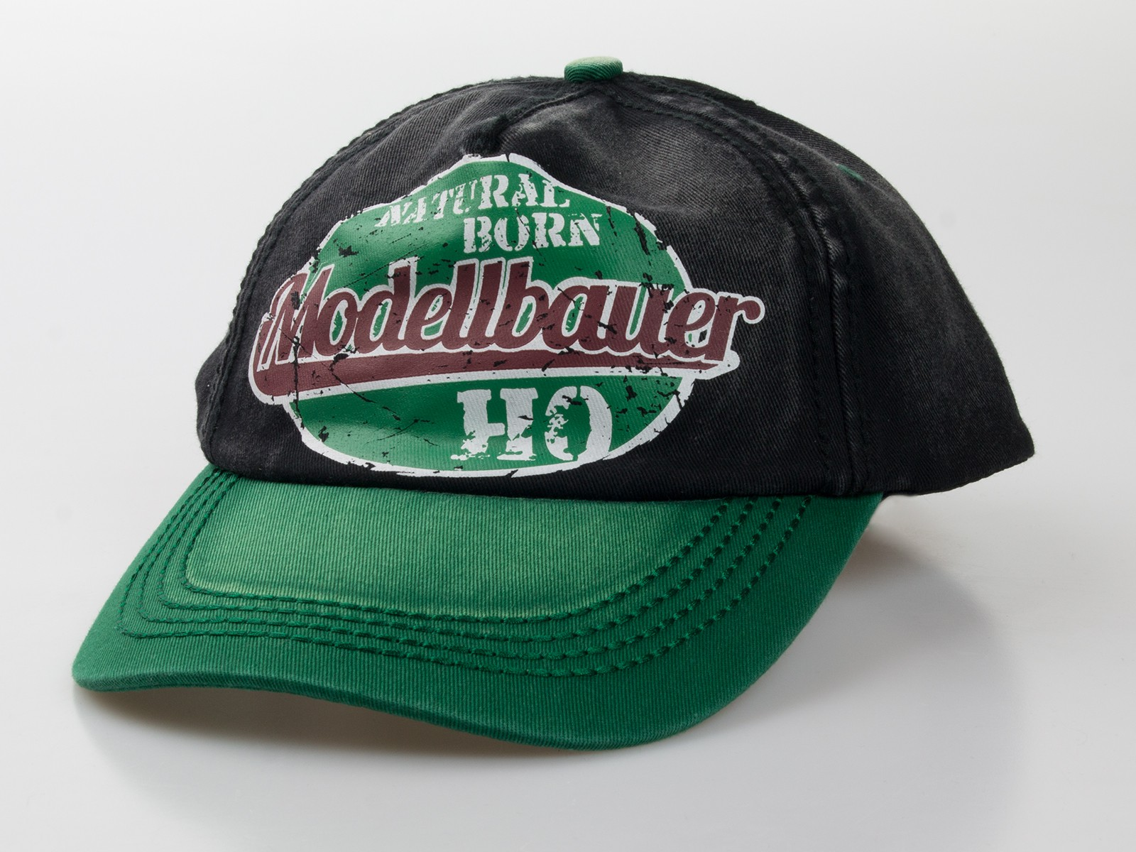 "Baseball-Cap ""natural born Modellbauer"""