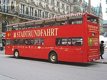 Ticket Stadtrundfahrt Hamburg Kind (6-14 J.)
