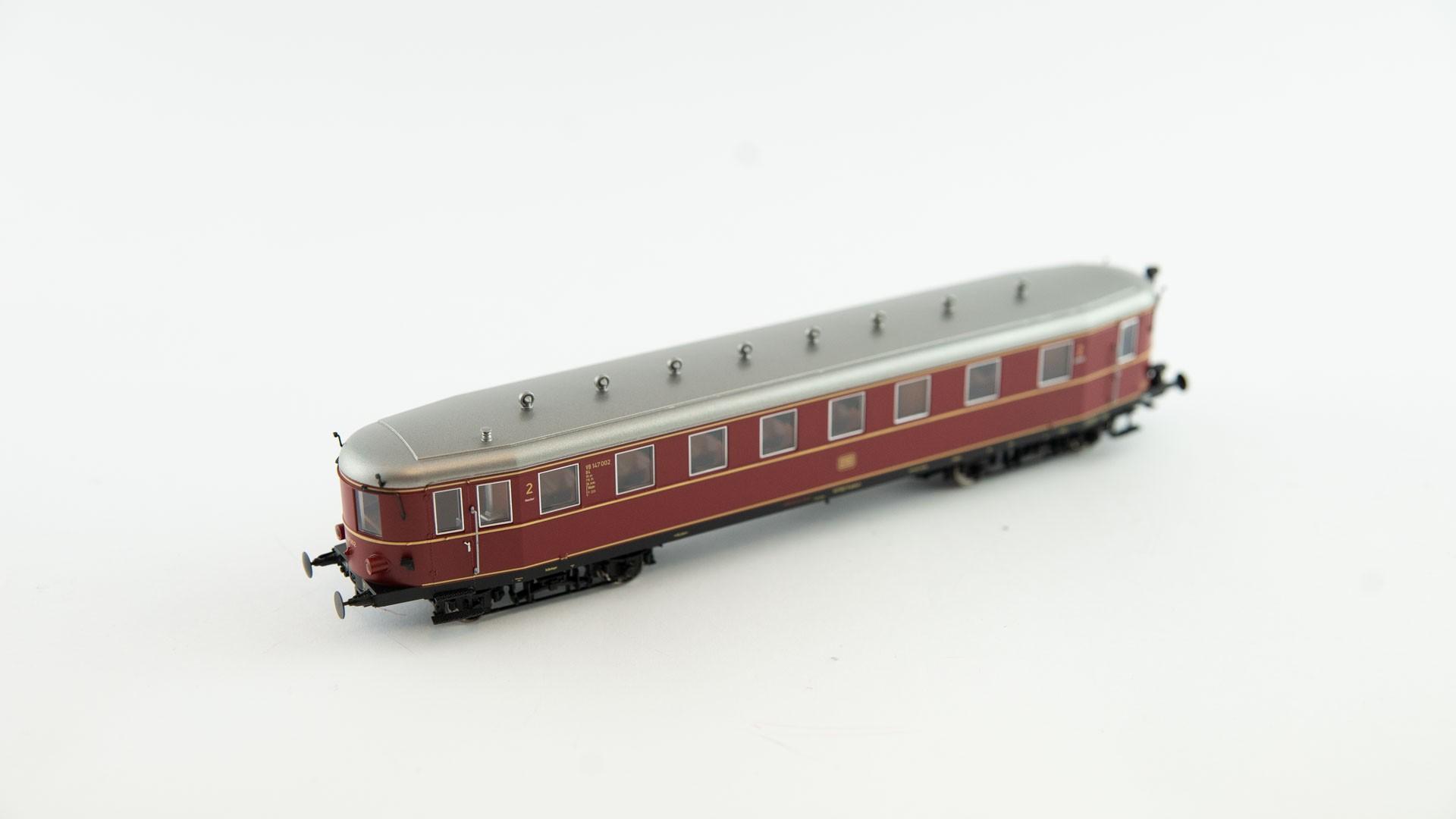 Brawa 45246 Steuerwagen VS 147 DR - rot/weiß