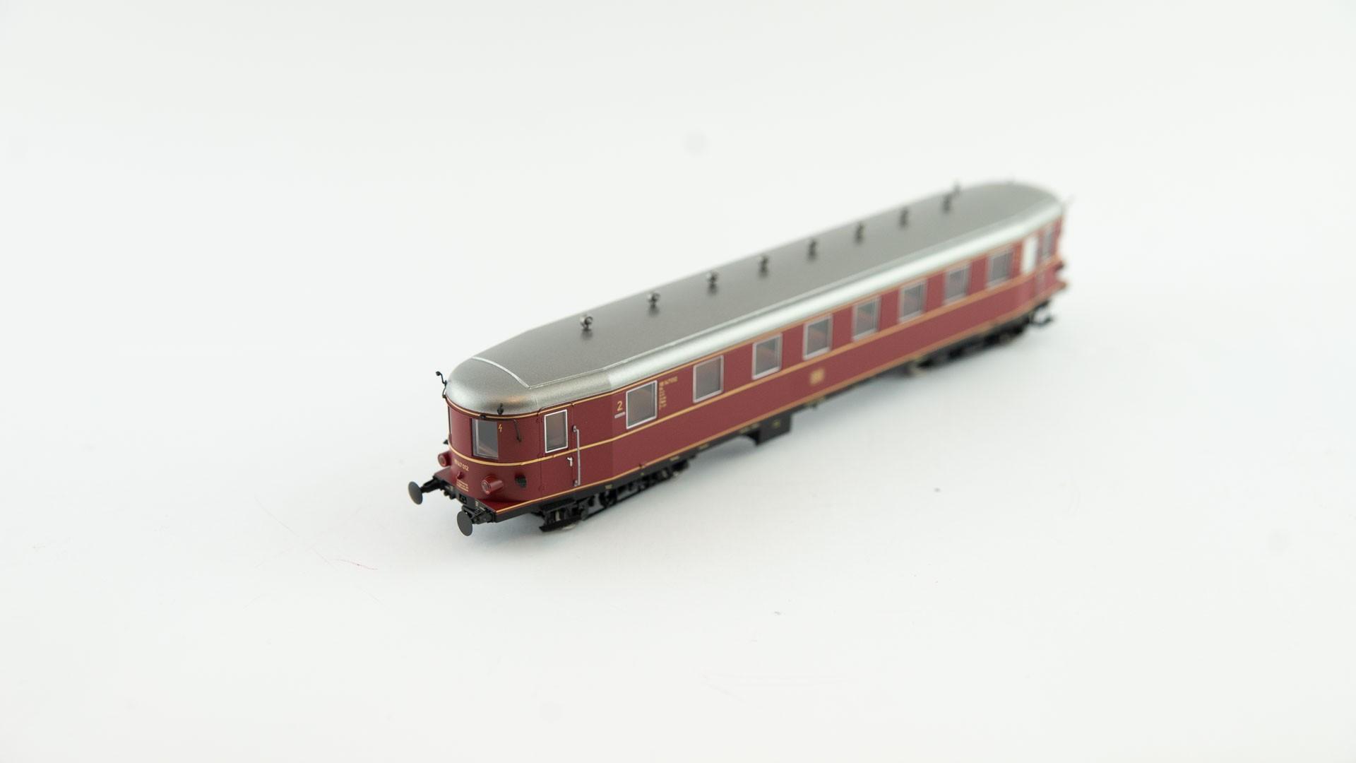Brawa 45247 Beiwagen VB 147 - DR - rot/weiß