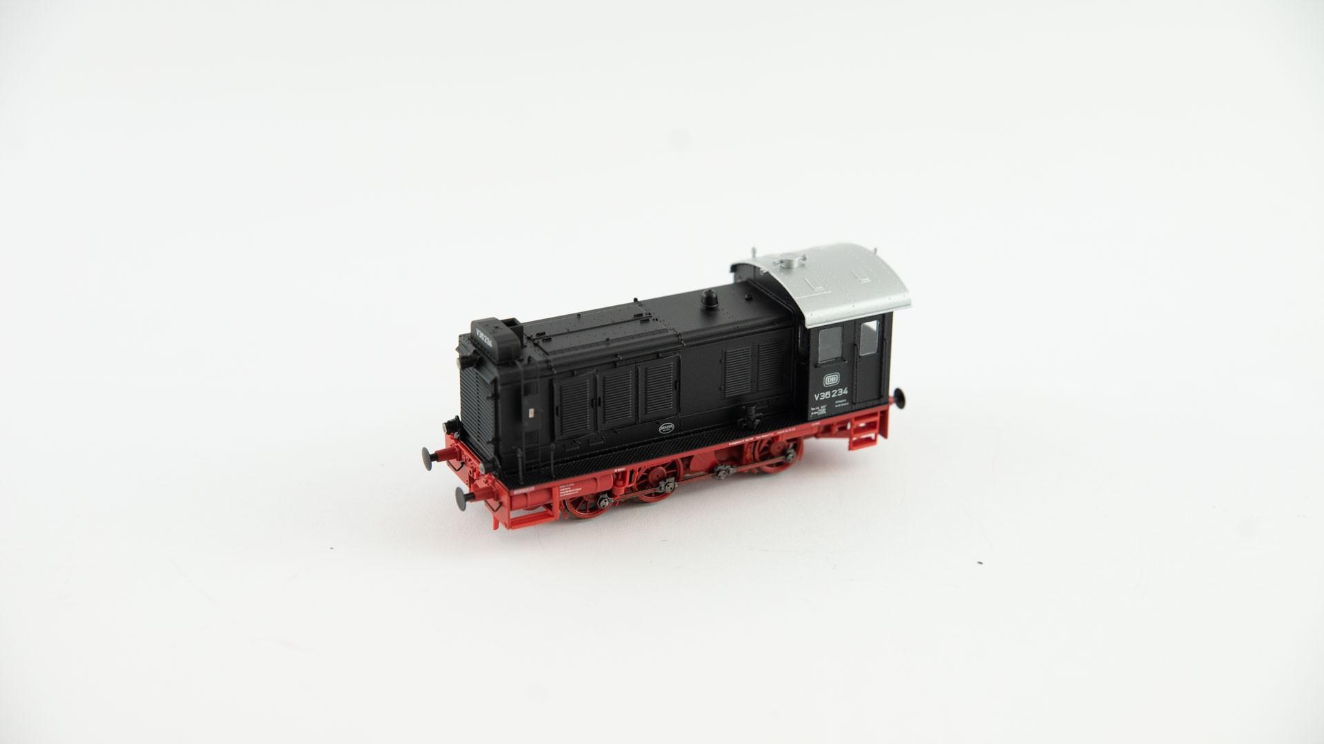 Brawa 41605 Diesellok V36 DB - AC Digital - schwarz/rot