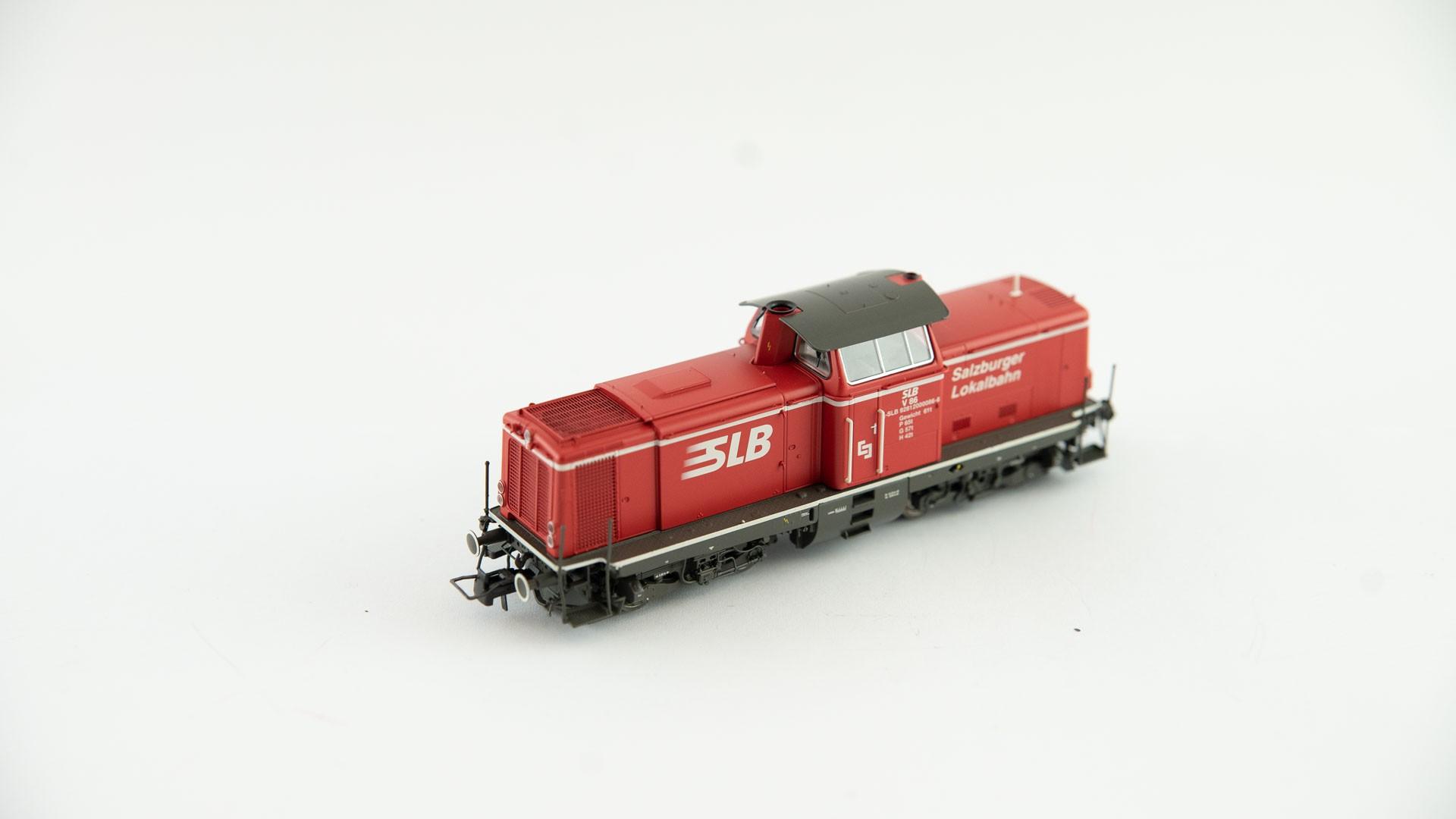 Brawa 42880 Diesellok V86 SLB - DC - rot