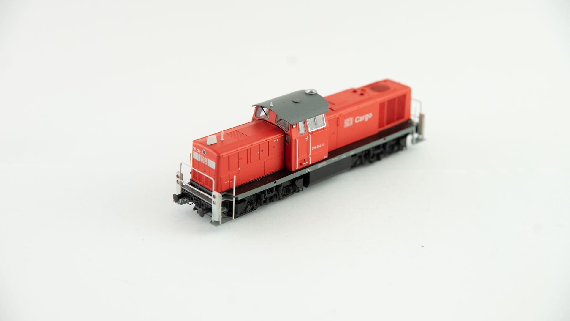 Brawa 41511 Diesellok BR 294 DB AG - DC - rot/grau