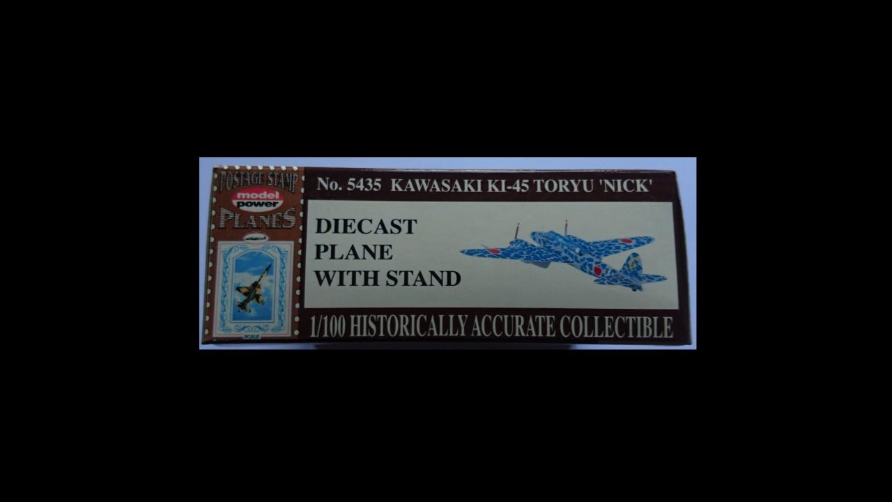 "Model Power Kawasaki Ki-45 Toryu ""Nick"" 1:100"