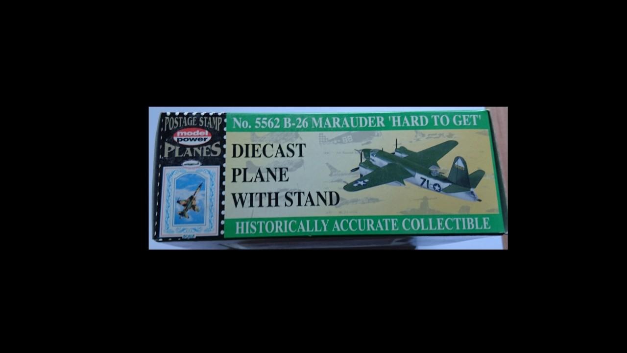 "Model Power B-26 Marauder ""Hard to Get"" 1:100"