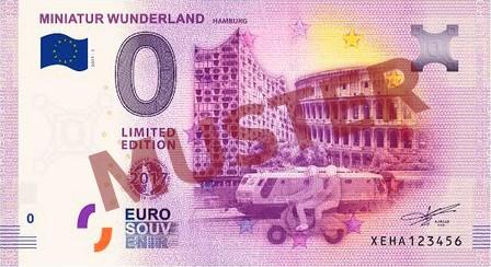 Euro-Souvenirschein Motiv 2017