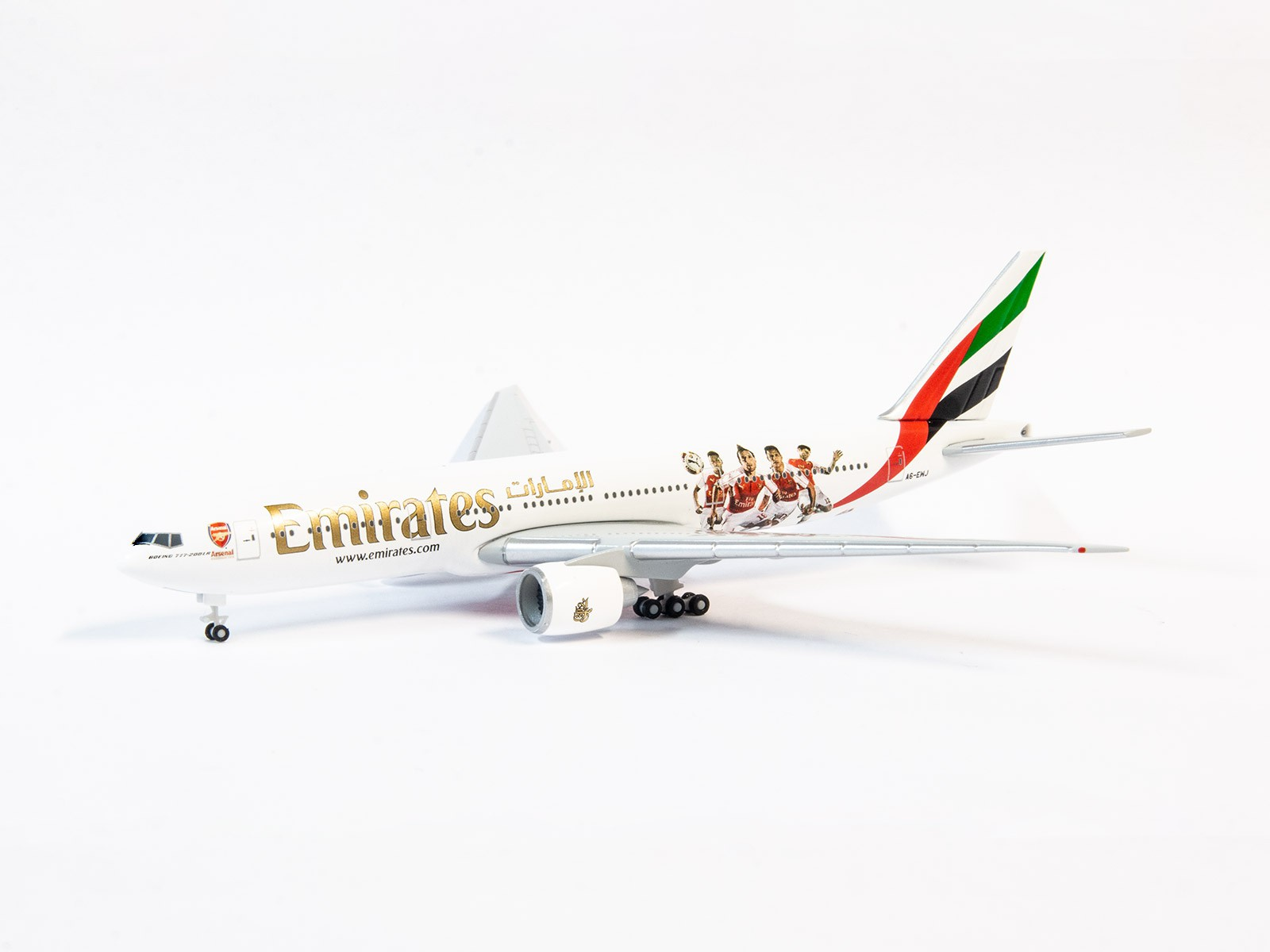 Herpa Wings 529235 Boeing 777-200LR Emirates  1:500