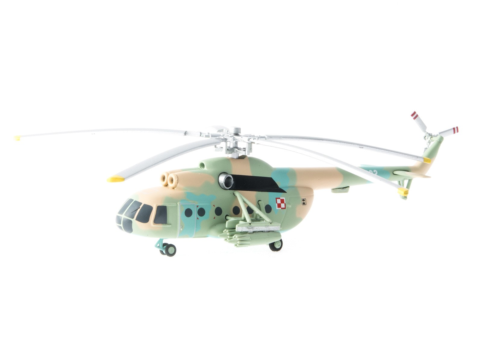 Herpa Wings 555623 Mil Mi-8T Poland Army Aviation 1:200
