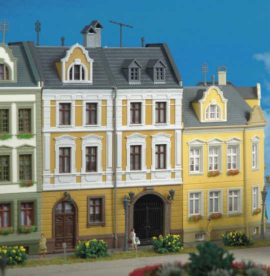 Kibri 8389 Stadthaus m.Fabrik Görlitz