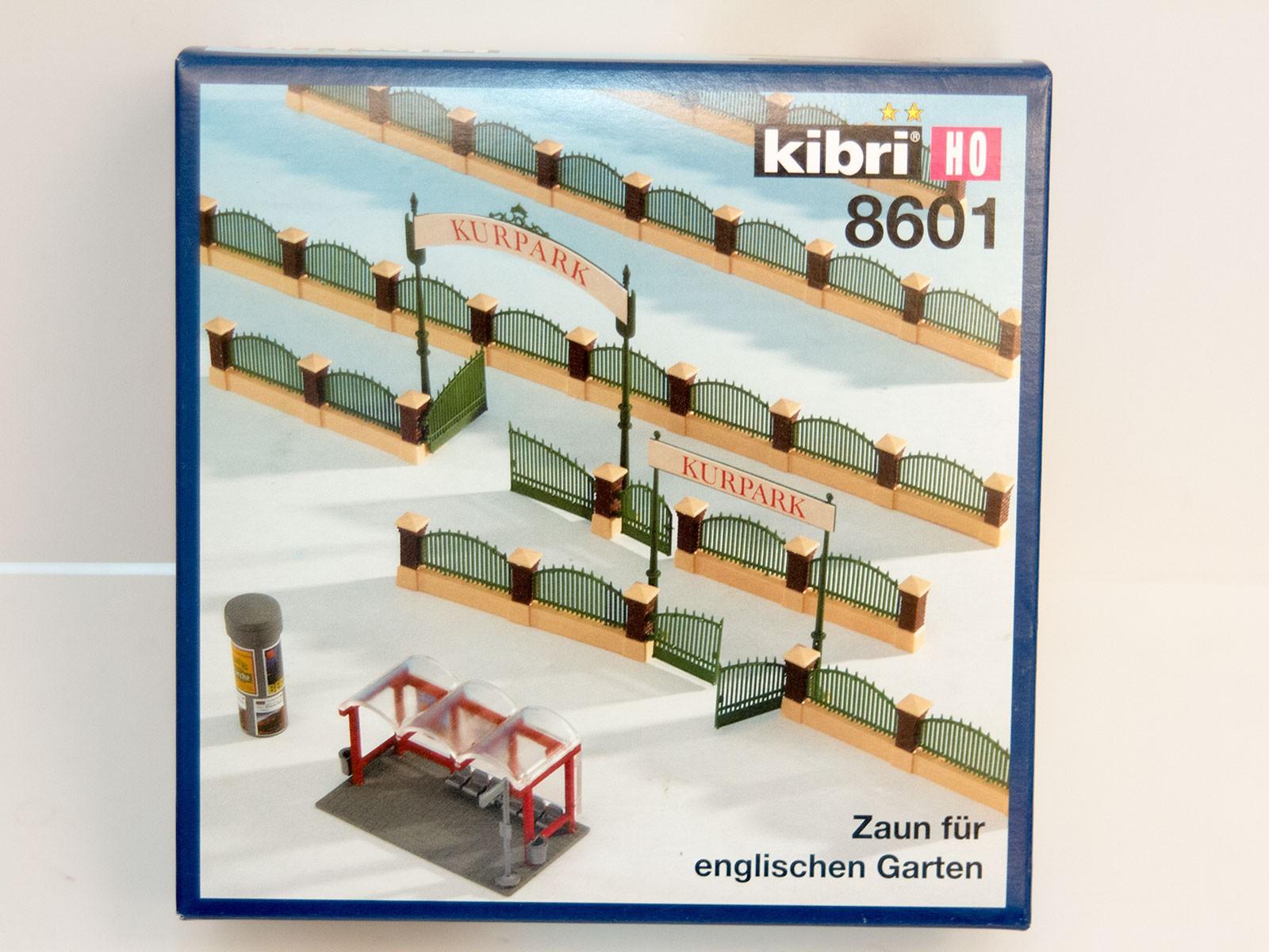 Kibri 8601 Zaun für Englischen Garten