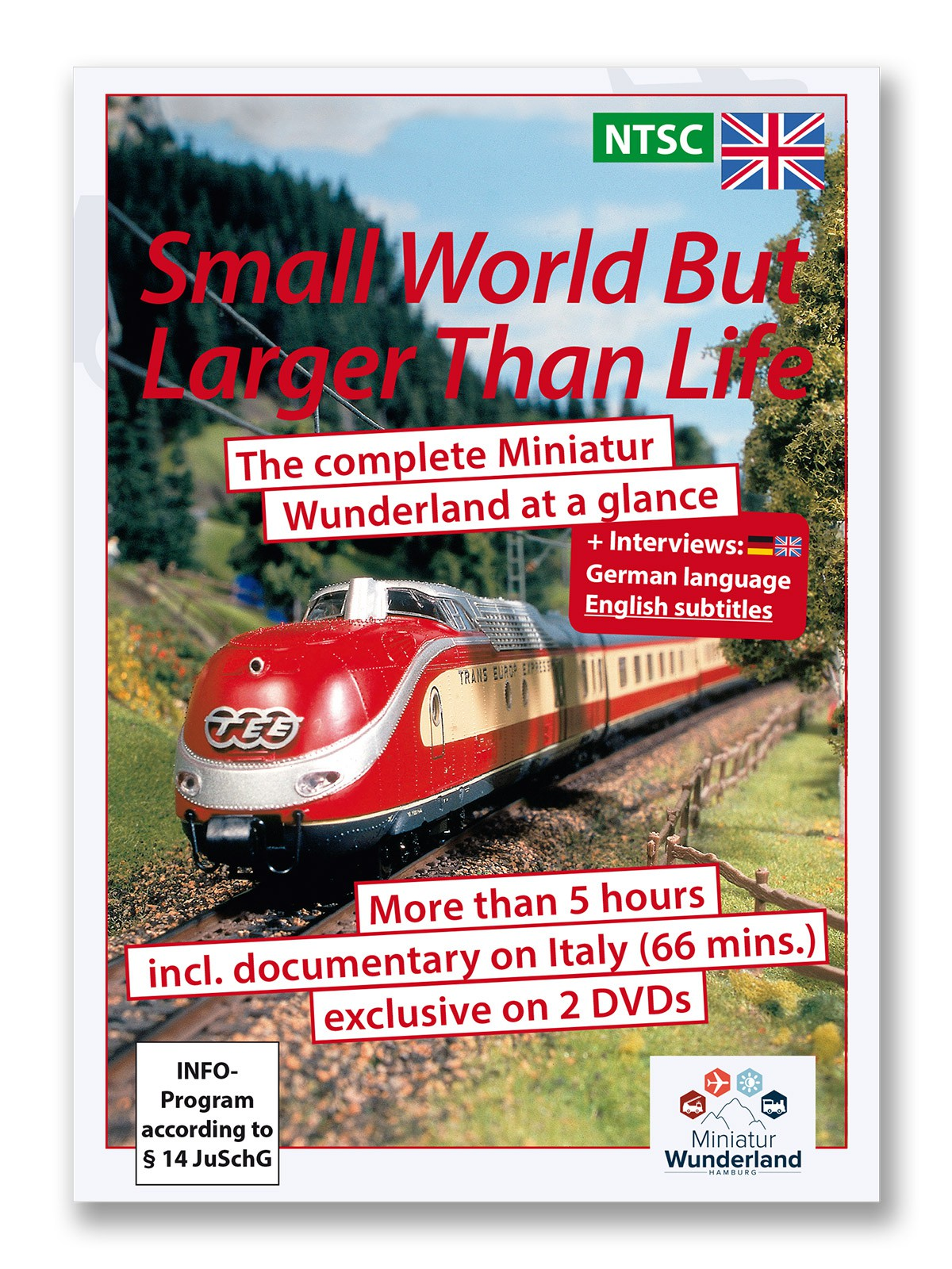 "DVD ""A small world, but larger than life"" NTSC-System  incl. Italy"