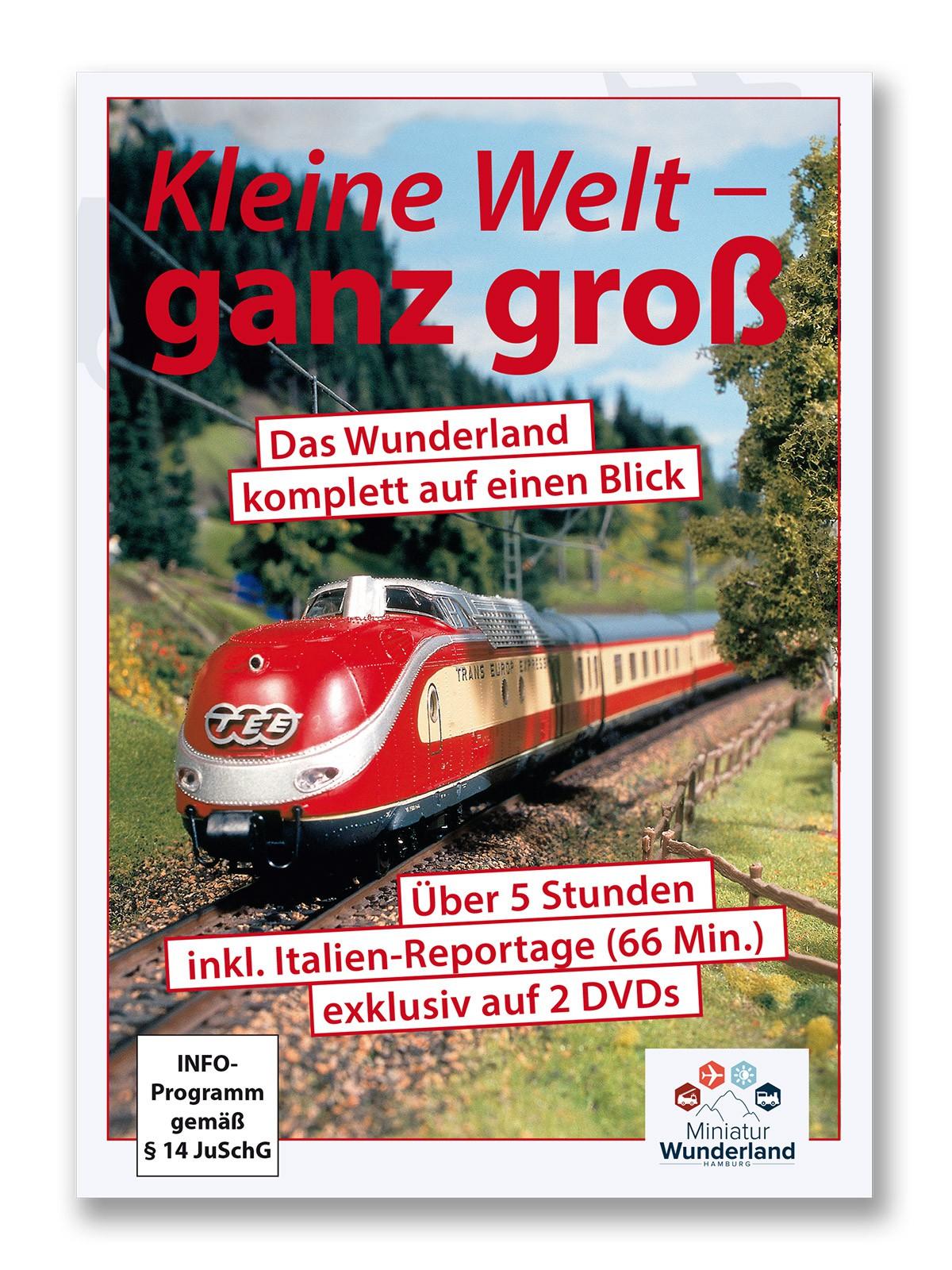 """Wunderland Doppel-DVD """"Kleine Welt - ganz groß"""" UPDATE incl. Italien-Abschnitt"""
