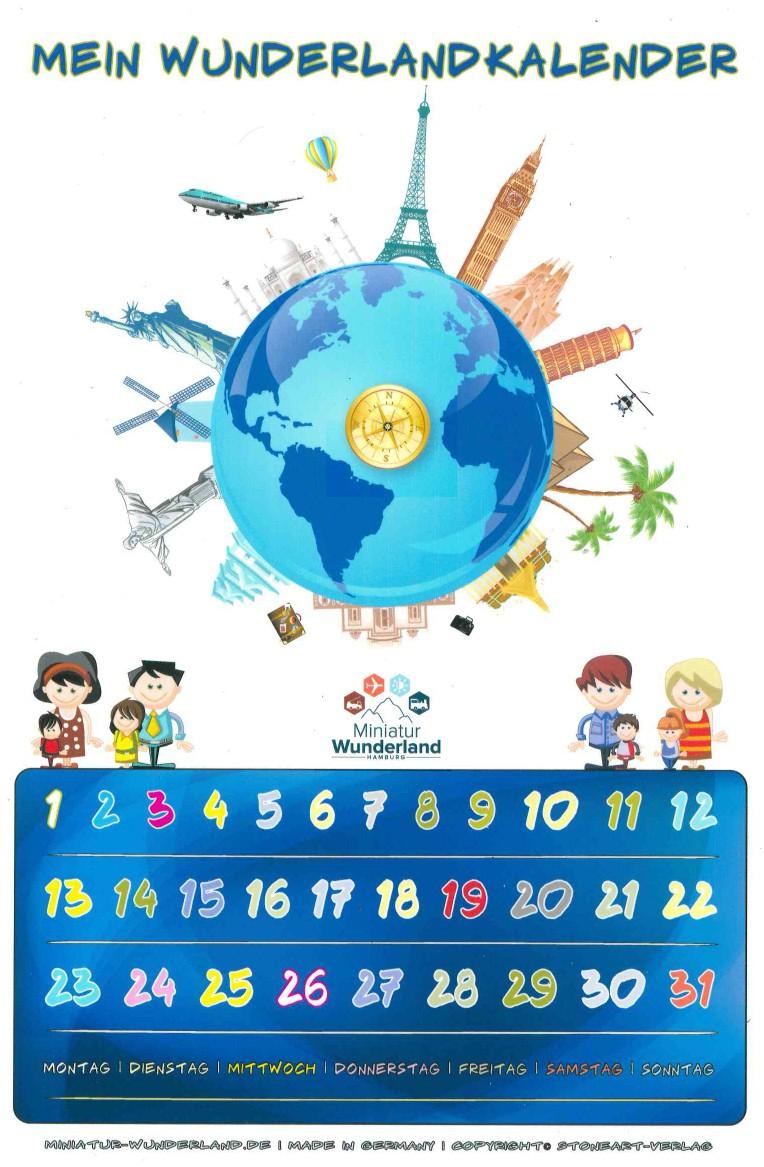 Miniatur Wunderland - Lebenshilfe Magnetkalender
