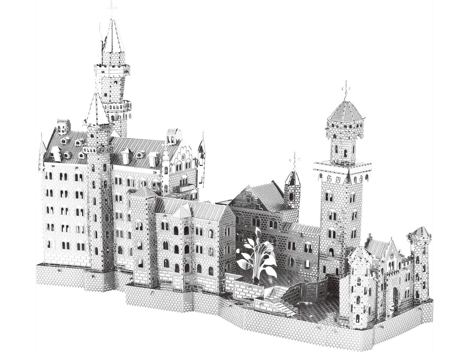 Metallbausatz Schloss Neuschwanstein