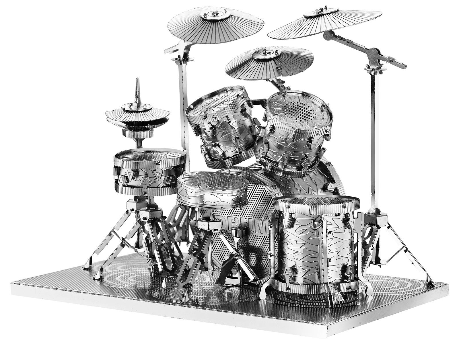 Metallbausatz Schlagzeug