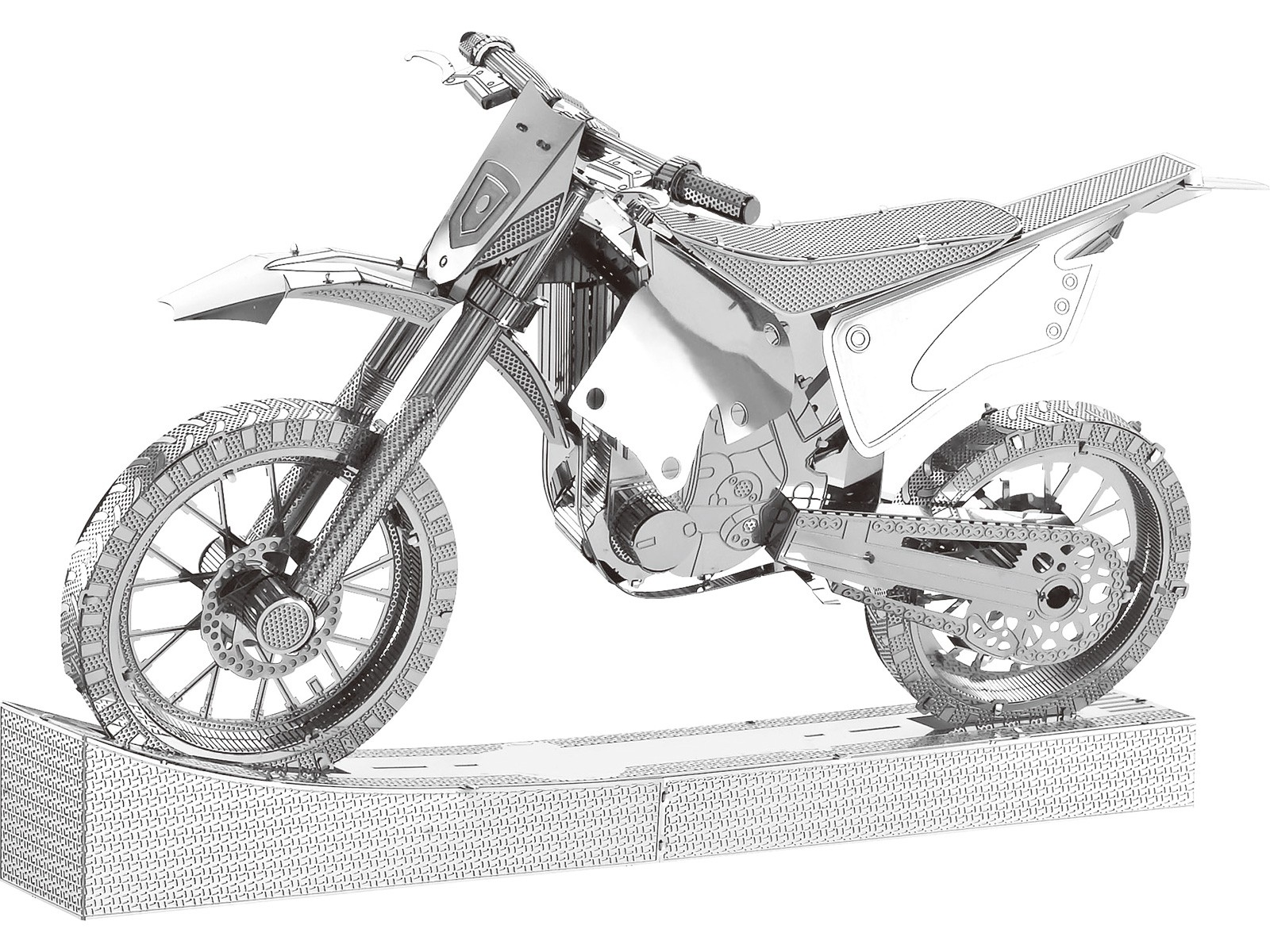 Mini-Metallbausatz Motorrad