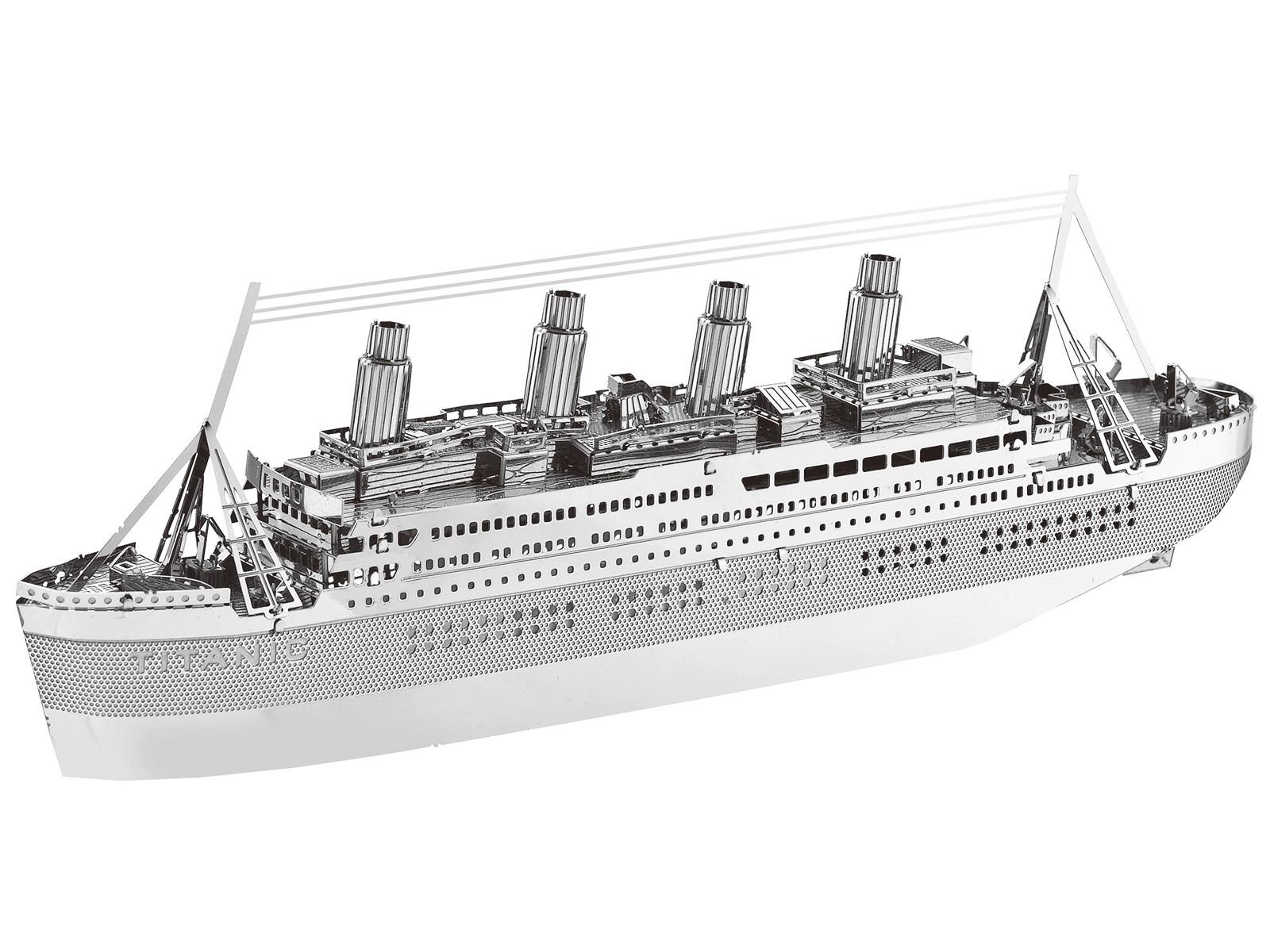 Mini-Metallbausatz Titanic