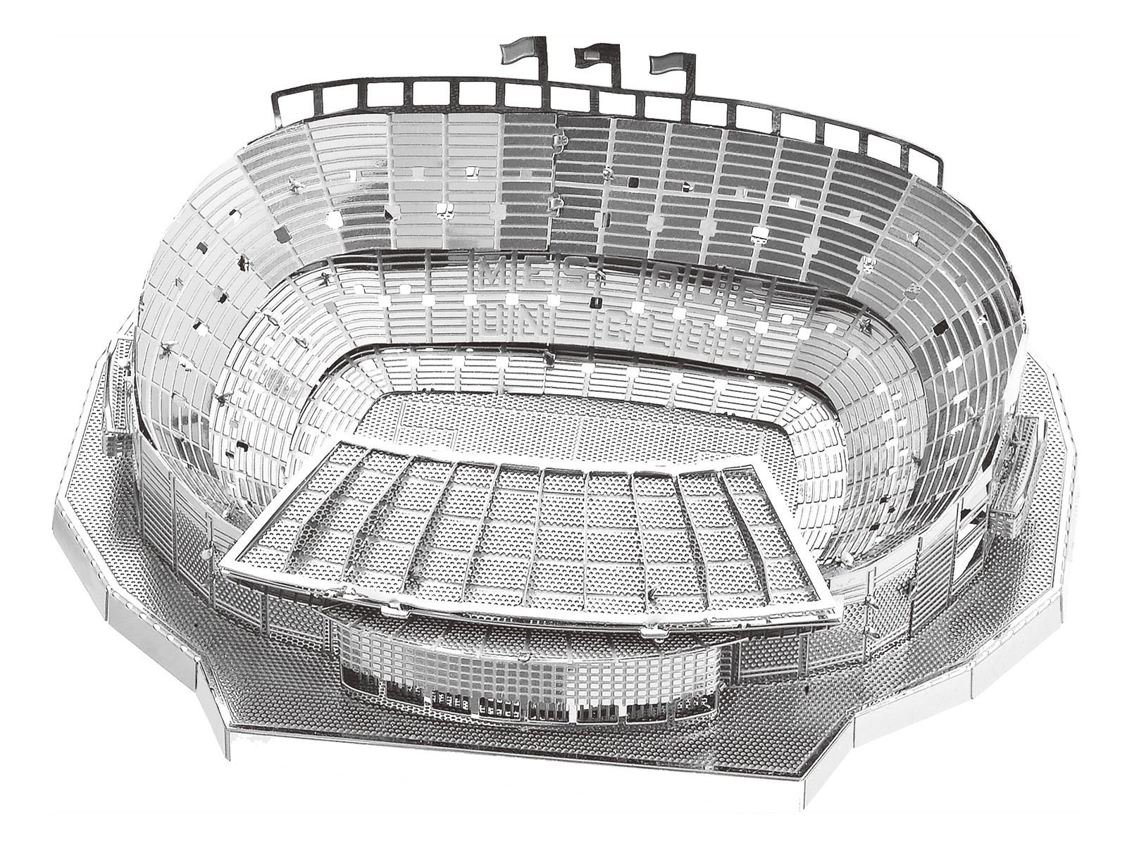 Mini-Metallbausatz Camp Nou Stadion