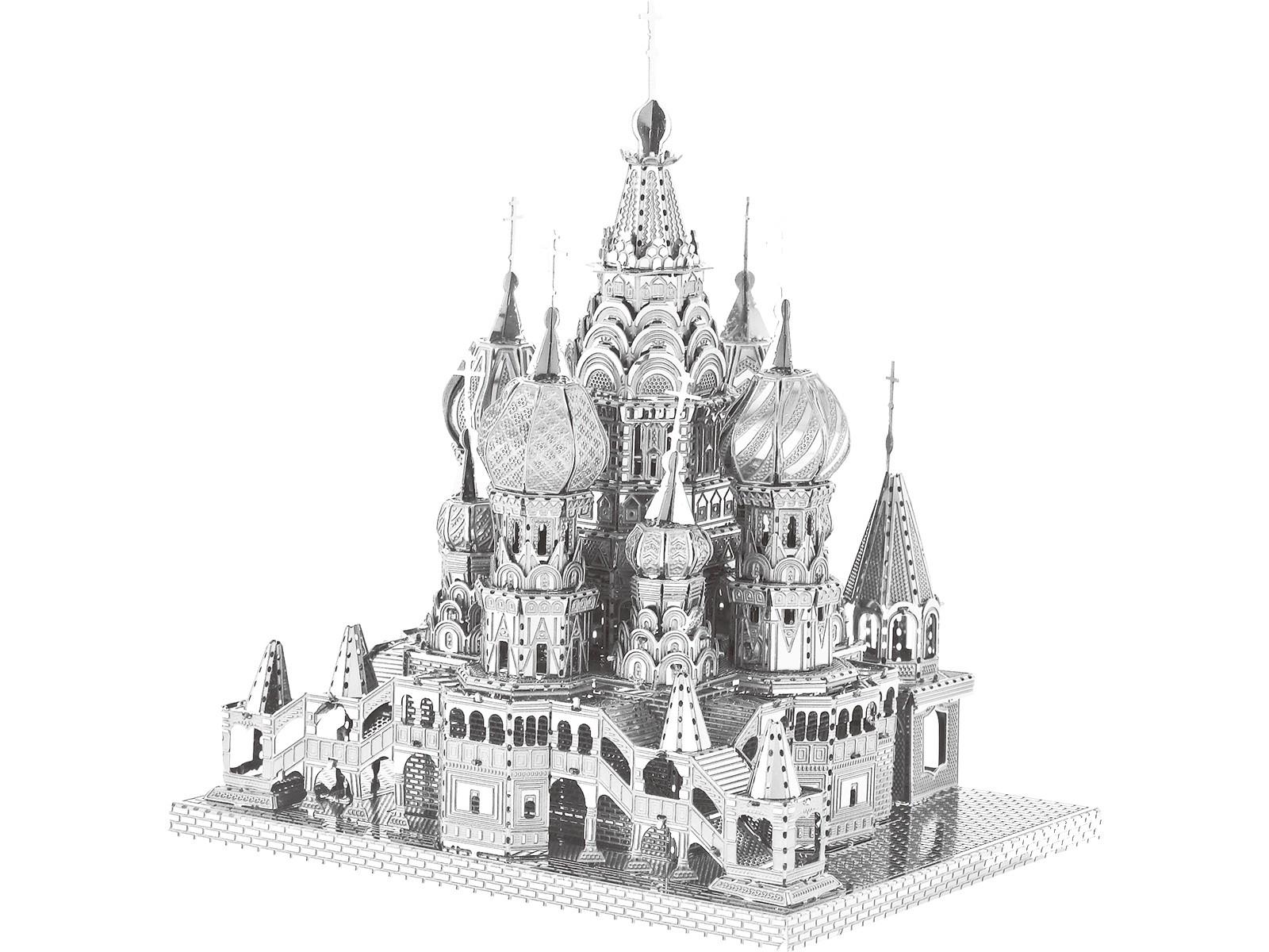 Metallbausatz Basilius-Kathedrale Moskau