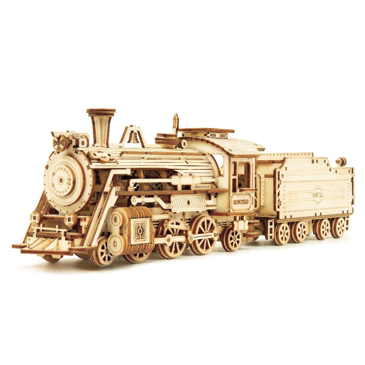 Prime Steam Express 3D Puzzle Holz - Robotime ROKR MC501