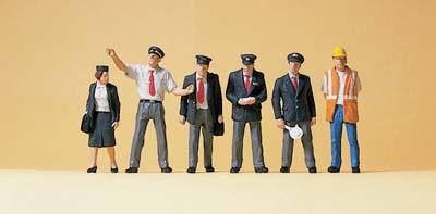 Preiser 10410 Bahnpersonal Großbritannien H0