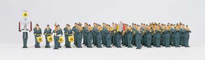 Preiser 13256 Musikkorps Bundesluftwaffe H0