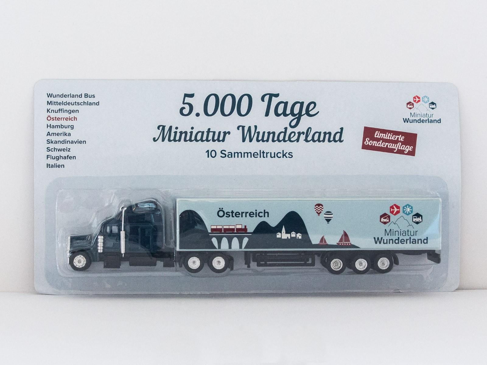 """Truck """"5000 Tage Wunderland"""" - Österreich"""