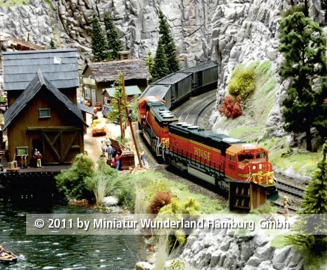 Panini 2011 Bild Nr 011  Miniatur Wunderland