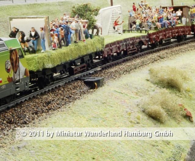 Panini 2011 Bild Nr 042  Miniatur Wunderland