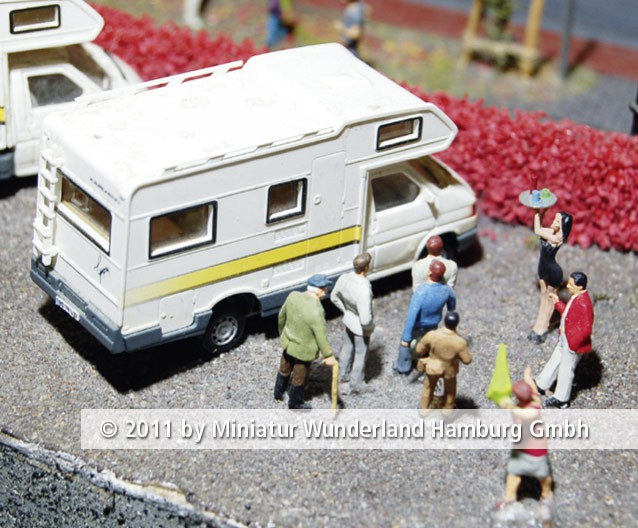 Panini 2011 Bild Nr 117  Miniatur Wunderland