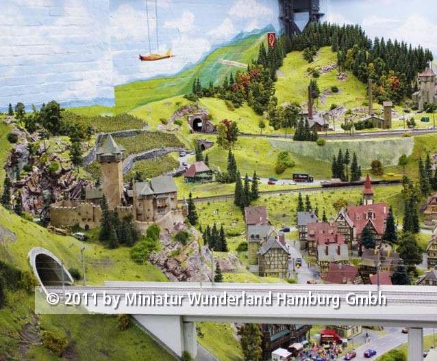 Panini 2011 Bild Nr 171  Miniatur Wunderland