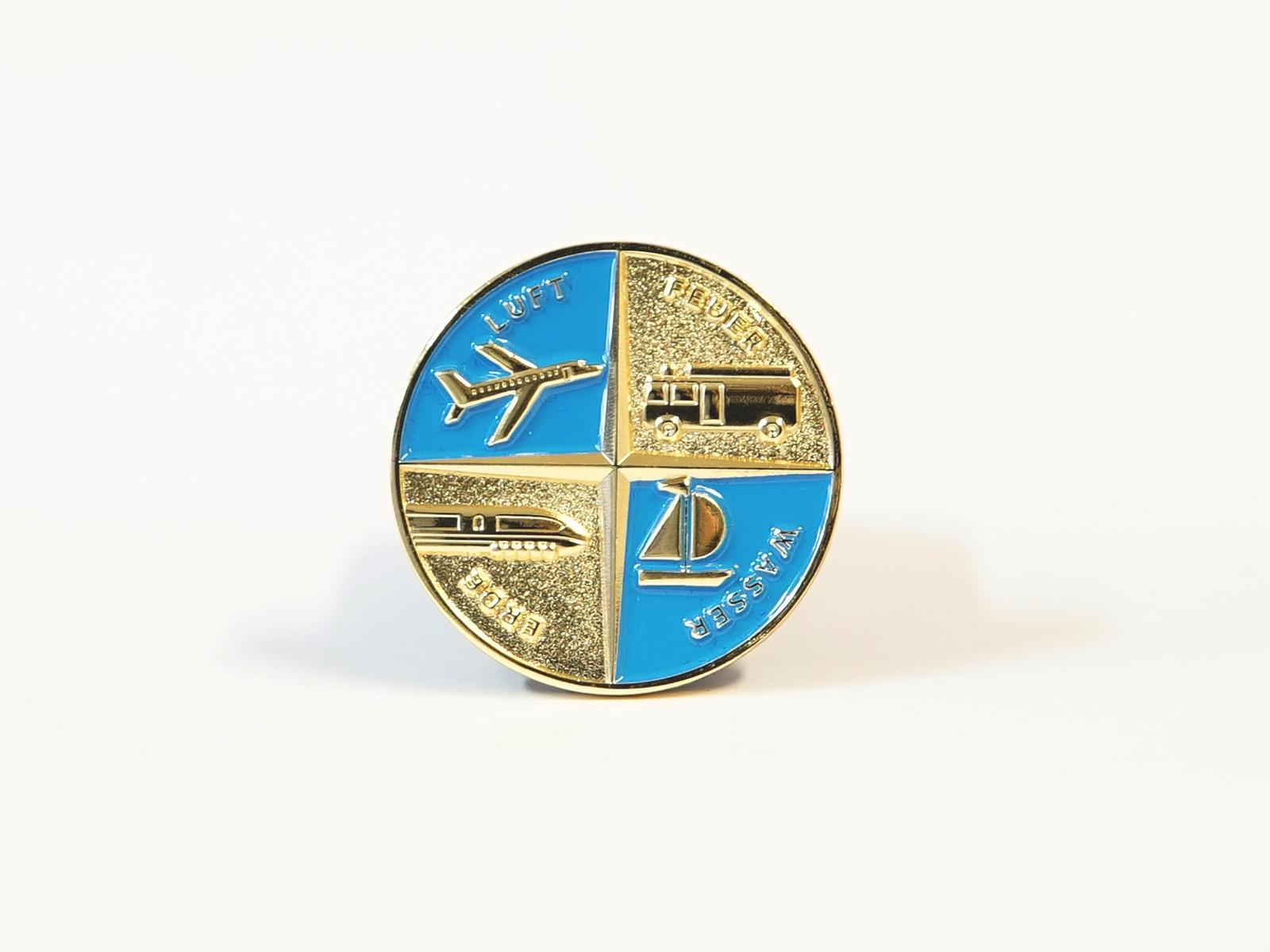 "Miniatur Wunderland Münze ""4 Elemente"" im Etui"