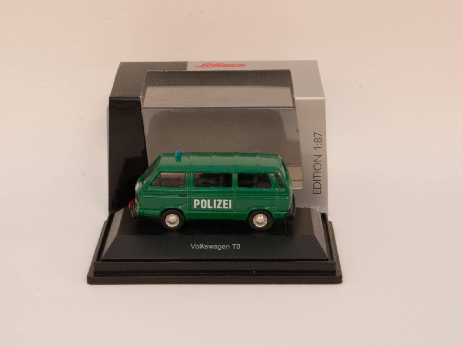 """Schuco 452606900  VW T3 Bus """"Polizei"""""""