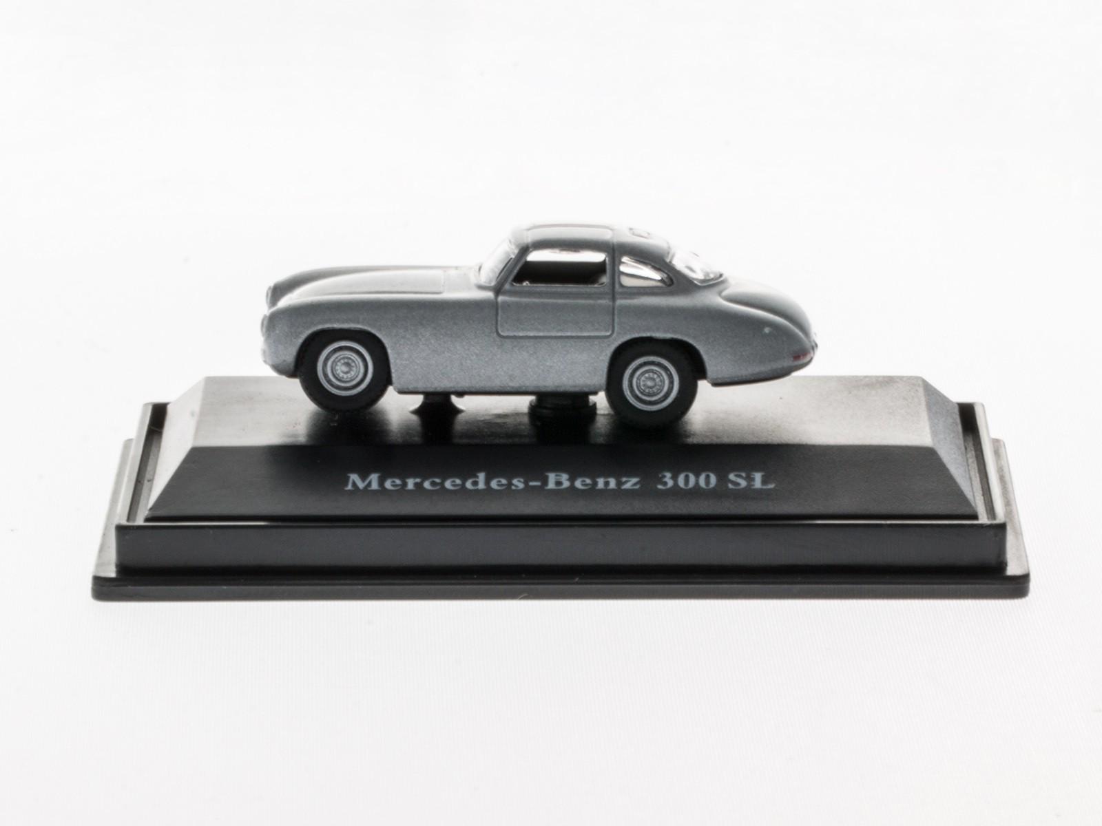 Schuco 26184 H0 MercedesBenz 300 SL Prototyp silber