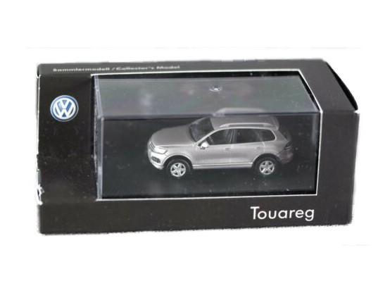 Herpa H0 VW Touareg silber Sammlermodell