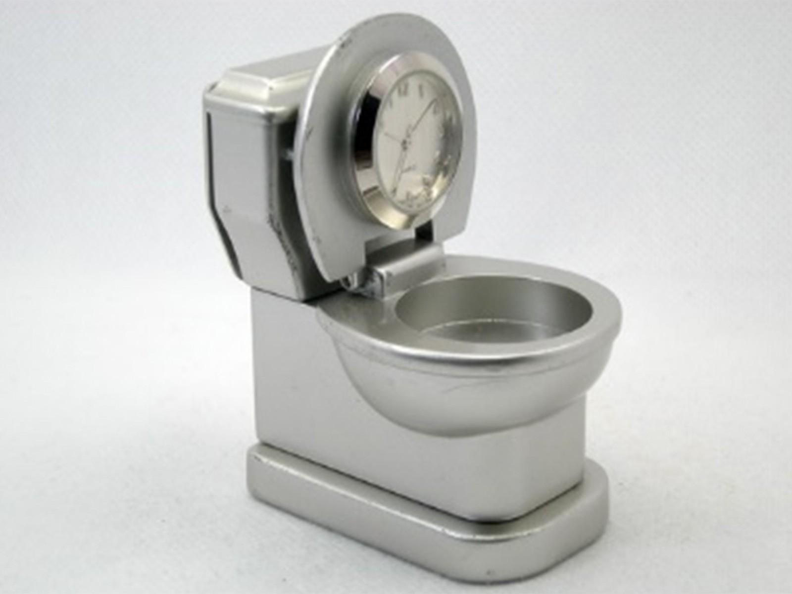 Miniatur-Uhr Klo