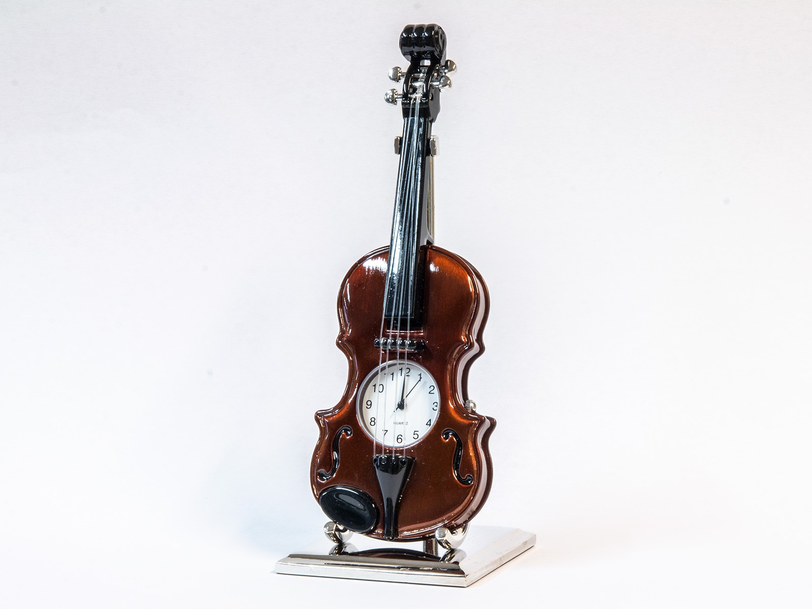 Miniatur-Uhr Violine