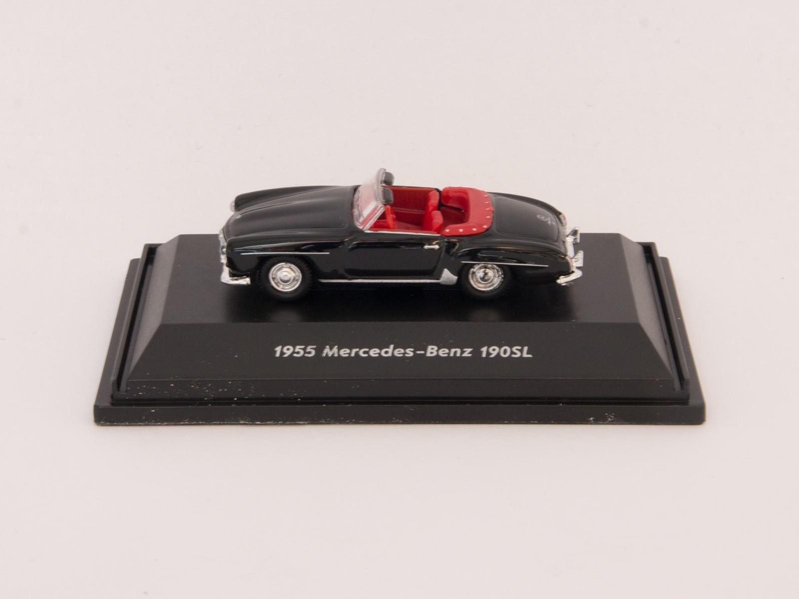 Welly H0 73119 Mercedes-Benz  190SL von 1955 (schwarz)