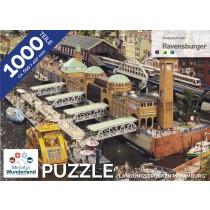"""Puzzle """"Landungsbrücken"""" 1000 Teile von Ravensburger"""