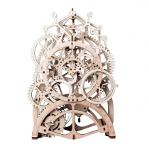 Pendeluhr 3D Puzzle Holz mechanisch - Robotime ROKR LK501
