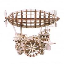 Luftschiff 3D Puzzle Holz mechanisch - Robotime ROKR LK702