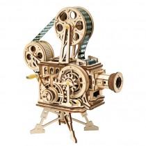 Filmprojektor 3D Puzzle Holz Vitascope - Robotime ROKR LK601