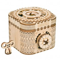 Schatzkiste 3D Puzzle Holz - Robotime ROKR LK502