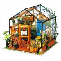 Cathy's Flower House - Bausatz DIY - Robotime ROLIFE DG104