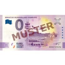 """Euro-Souvenirschein Motiv """"Flughafen"""" (2020-12.2) Anniversary-Edition"""